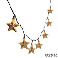 Gold Star Light Set - Oriental Trading
