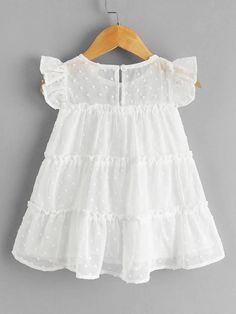 Baby Frocks Designs, Kids Frocks Design, Frocks For Girls, Little Girl Dresses, Toddler Fashion, Kids Fashion, Smocked Baby Dresses, Kids Dress Wear, Baby Girl Dress Patterns