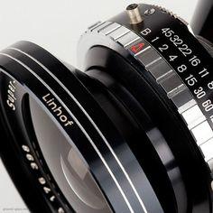 Detail of Schneider Super Angulon 65mm f/5.6 large format photography lens Image Formats, Camera Equipment, Camera Photography, Large Format, Beautiful Indian Actress, Digital Camera, Cameras, Lenses, Detail
