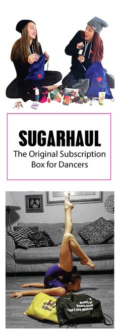 Sugarhaul -The Original Dancer's Haul Subscription delivered bimonthly in a Sugar limited edition backpack. Sugar is more than a subscription box. Sugar offers their subscribers opportunities to be part of many social media dance teams where they can grow confidence and network with dancers and dance companies throughout the US. Visit us at Sugarhaul.com to find out more.