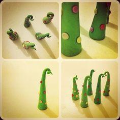 Christmas Tree #Fimo - Made Debdesigner