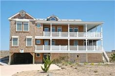 Outer Banks Oceanfront Vacation Rentals Under $3500 Available 1st Week of June | OBX Blue