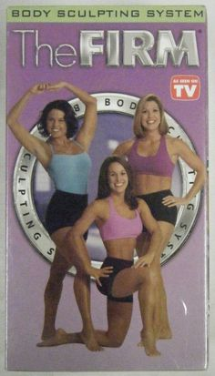 3 The FIRM BODY SCULPTING SYSTEM VHS Workout Body, Cardio, & AB Sculpt