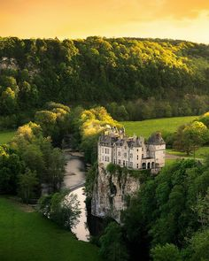 Like a fairytale The amazing castle of Walzin in Belgium by Aliaume Chapelle