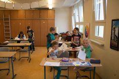 Ostseekinder malen ihr großes Bild   Schnappschüsse vom Malen mit den Ostseekindern (c) Frank Koebsch (8)