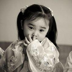 Young girl, Pyongyang, North Korea - Photo by Eric Lafforgue