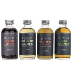 Root 23 ~ Farm-to-Bar Cocktails Gift Set ~