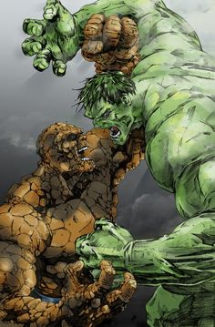 The Hulk vs. The Thing - Jonathan Lau