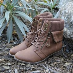 all about that sass sweater boots , tan fold over cuffed sweater knit top booties fall winter women's boots http://www.shophearts.com