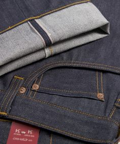 Classic 1947 cut selvedge denim Levis vintage clothing RAW || British Indie Clothing - AcquireGarms.com