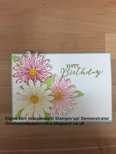 Daisy Punch, Stampin\' Up!