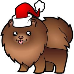 two of my favorites; chocolate and Pomeranians! make that three; chocolate, Pomeranians, and christmas!  :)