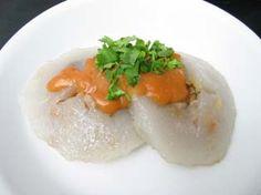 肉圓與沾醬 from Eupho Café - 愛在廚房 Taiwanese Popcorn Chicken, Grains, Rice, Recipes, Food, Recipies, Essen, Meals, Ripped Recipes
