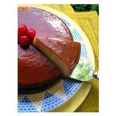 """Flan de Coco (Coconut Flan) I """"Great Flan! My husband is Cuban and he says it's JUST like his mom makes."""""""