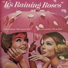 "Periodically Vintage (@periodicallyvintage) on Instagram: ""It's Raining Roses. Cutex brings you the most ravishing new rose tones ever! Rich, radiant ""Mad…"""