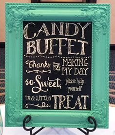 Candy Dessert Tables & Buffets for all occasions. Beyond candy & desserts - sweets & treats with snacks that tie in with a color scheme or theme.