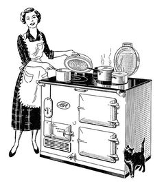 Detail from a 1950 Aga ad | Flickr - Photo Sharing!