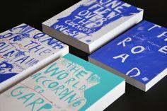 American Literature - Book Series by Nikola Klímová, via Behance