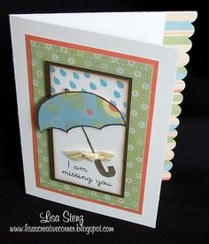 """Lisa's Creative Corner: """"Missing You"""" Caboodle Card"""