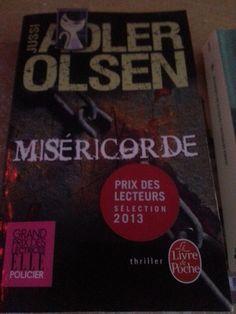 Miséricorde de Jussi Adler Olsen (photo: Delphine Tamea-broutin)  #VendrediLecture
