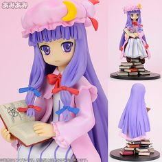 "AmiAmi [Character & Hobby Shop] | Touhou Project - The Girl of Knowledge and Shadow ""Patchouli Knowledge"" Complete Figure(Released)"
