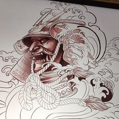 Another Kabuto piece to be ink soon