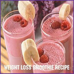 Weight loss smoothie