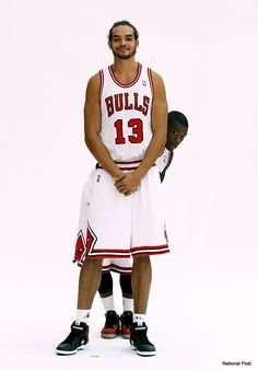 Nate Robinson and Joakim Noah. Stuff like this makes Nate my 2nd fav player. Plus he's a beast and can jump out the gym.