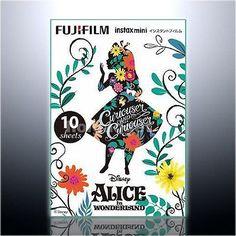 Fuji Fujifilm Instax Mini Disney Alice 10 Film – 7s 8 25 70 90 Camera SP-1 SP-2