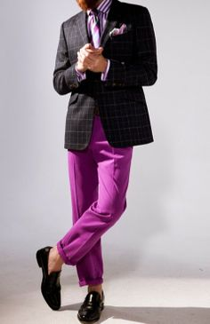Radiant Orchid #MenOutfit 2014