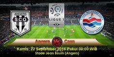 Agenbolaeuro2016.net kali ini akan mengulas informasi seputar prediksi pertandingan dari ajang kejuaraan Ligue 1 Prancis yang telah memasuki pekan ke-6, dimana kedua tim yang akan beradu ketajaman pekan ini adalah Angers vs Caen yang rencananya akan digelar di Stade Jean Bouin (Angers) pada hari Kamis, 22 September 2016 Pukul 00:00 WIB malam hari nanti.