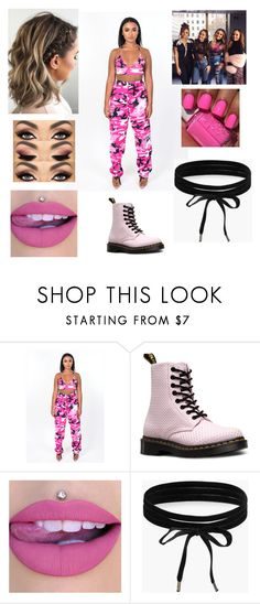 """""""Little Mix at Paper Penthouse"""" by andreaosorio16012 on Polyvore featuring moda, Dr. Martens y Boohoo"""