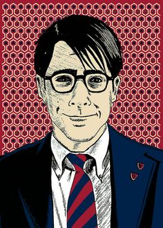 brian methe - rushmore - wes anderson - jason. love this print.