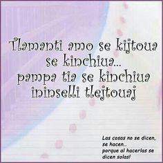 Quote en Nahuatl