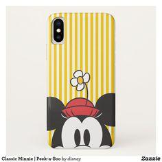 Classic Minnie   Peek-a-Boo iPhone X Case