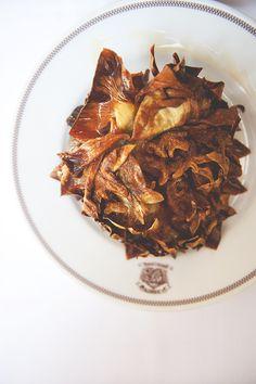 CARCIOFI ALLA GIUDIA (double fried artichoke) [Italy, Rome, Roman-Jewish Cuisine] [thekitchykitchen]