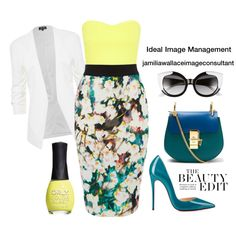 Ideal Image by jamilia-wallace on Polyvore featuring Miss Selfridge, Chloé, Crap and ORLY