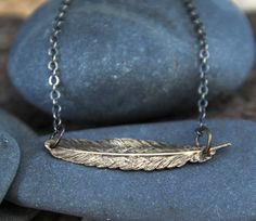 As you wear your necklace, I invite you to see it as a reminder that you can feel your wings, you can breathe deeply, and you make the choice to fly when it serves you. :: a so i fly necklace ($22.00)