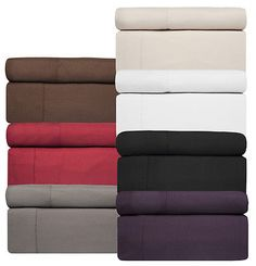 Bamboo Sheets – Sweet Home Collection 1800 Series Deep Pocket 4 Piece Set