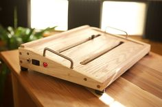 Hello,I am currently taking orders for custom / made-to-order pedal boards. These boards are hand crafted in my Wisconsin based wood shop. All boards are built using USA made electrical components & hardware, along with carefully selected hardwood lumber from local suppliers. I can build to any specifications you have in mind, using the materials of your choosing. My turn around time varies with each order, but I will typically have your board finished and shipped within 7 days.The pedal