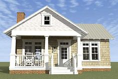 There are some thing I would change to make this work for our family.  Make the walk in closet for the master bedroom a set of stairs. make it open between the kitchen and dining. Add a built in bench in the dining room, etc. Overall though it has the makings for a great small family home.