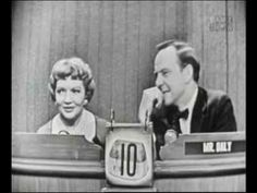 What's my Line? Claudette Colbert What's My Line, Line Tv, Television Program, Classic Tv, Classic Movies, Golden Age Of Hollywood, Old Hollywood, John Daly