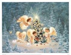 Vánoční pohlednice - Vánoce, vánoce přicházejí......