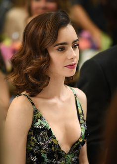 Lily Collins Attending The BAFTA Tea Party held at the Four Seasons Hotel Los Angeles January 7th 2016