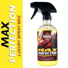 Pearl Nano Max Perfection Luxury Detail Spray & Waterless Car Wash with Brazilian Carnauba Wax, Super Polymers & High-Tech Fillers. #pearlnano