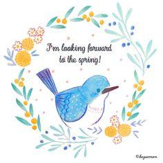 春が待ち遠しい!