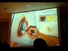 how to paint an eye Mariela Villasmill
