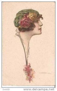 ART DECO POSTCARD - CORBELLA - 118-1   eBay