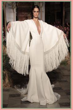 Julio 2014 - Call Tutorial and Ideas Dress Outfits, Casual Dresses, Fashion Dresses, Couture Dresses, Bridal Dresses, Couture Fashion, Runway Fashion, I Love Fashion, Fashion Design
