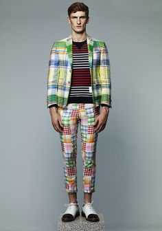 Thom Browne S/S 2013 - oh yes, there's good look for any man...  :-|